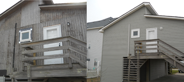 Before& After Exterior Renovations
